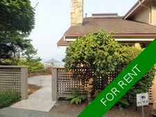 West Vancouver Sahalee townhome for rent:  3 bedrooms, + den, + office
