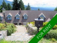 "West Vancouver ""COACH HOUSE"" for rent:  3 bedroom"
