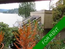 North Vancouver Semi-waterfront VIEW Coach House for rent:  1 bedroom