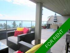 West Vancouver View condo/pool for rent:  3 bedroom  (Listed 2020-11-01)
